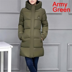Where To Buy Ladies Coat Women Jacket Casual Down Parkas Cotton Stylish Winter Jackets Army Green Intl