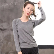 Review Ladies S Sportswear Running Suit Yoga Clothes Fast Dry Sports T Shirts Suitable For Fitness、zumba、yoga And Jogging Intl Oem On China