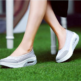 Best Price Lalang New Style Fashion Women S Shake Shoes Casual Fitness Shoes Grey Intl