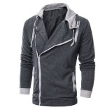 Large Size Mens Sweatshirts Jacket Hoodie Sports Sweater Coat Dark Grey Intl Reviews