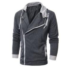 Large Size Mens Sweatshirts Jacket Hoodie Sports Sweater Coat Dark Grey Intl Coupon Code