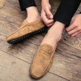 Shop For Men S Korean Style Fashion Slip On Leather Shoes E56 Casual E56 Casual