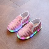 Where To Buy Led Children Shoes Infant For G*Rl 3 Color Luminous Sneakers G*Rl Footwear Kids Light Up Shoes Glowing Sneakers Intl