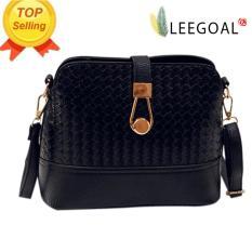 Store Leegoal Women Shoulder Bag Leather Handbag Satchel Messenger Bag Black Leegoal On China