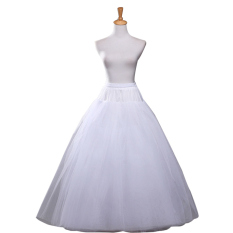 Buy Cheap Leondo No Hoop Ring Petticoat Bridal Gowns Elastic Waist Crinoline Intl