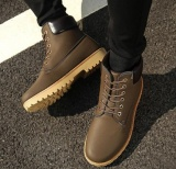 Sale Leyi Men Martin Boots Boots Boots Shoes Boots Desert Boots Brown Intl Leyi On China