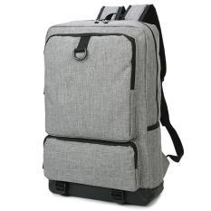 Best Offer Lightweight Laptop Backpacks Mens Womens Slim Business Backpack For Laptop Notebook Computer Grey Intl