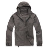 Lightweight Outdoor Sports Sunscreen Windbreaker Jacket Grey Compare Prices