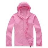 Review Lightweight Outdoor Sports Sunscreen Windbreaker Jacket Pink Oem On Hong Kong Sar China