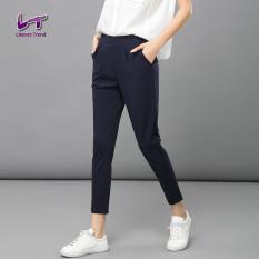 Likener Trend Casual Women Ankle Length Pant Slim Pant Navy Blue Intl Coupon Code