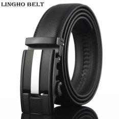 Buy Lingho Belt 2017 New Arrival Design Mens Belt Fashion Genuine Leather Belt Men Luxury Cowhide Male Strap 110Cm 130Cm Kb42 Intl Lingho Belt Original
