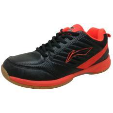 Get Cheap Lining Badminton Shoes Elva Black