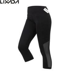 Buy Cheap Lixada Women Tight Yoga Pants Stretchy Quick Drying Capri Pants Sports Leggings For Yoga Running Intl