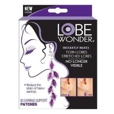 Store Lobe Wonder Support Patches For Earrings 60 Patches Lobe Wonder On Singapore