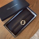 Sale Long Lady Wallet Purse Leather Women Wallets Brand Design High Quality Long Lady Wallet Purse Clutch Black Intl China
