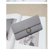 Buy Long Lady Wallet Purse Leather Women Wallets Brand Design High Quality Long Lady Wallet Purse Clutch Grey Intl Cheap China