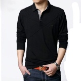 Price Compare Long Sleeve Polo Shirts Men S Fashion Spring Casual Mens Polos Big Size Male Polo Clothing Intl