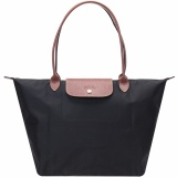 Longchamp Le Pliage Garance Nylon Large Foldable Tote Bag Large Shoulder Black Intl Shop