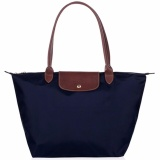 Buying Longchamp Le Pliage Garance Nylon Large Foldable Tote Bag Large Shoulder Navy Intl