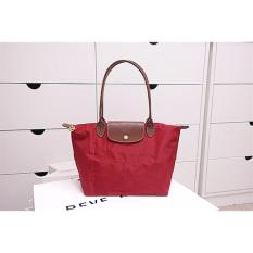 988508324868 Longchamp Le Pliage Long Handle Small Red 2605 089 545