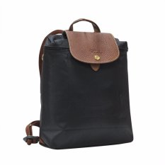 Longchamp Noir Le Pliage Backpack