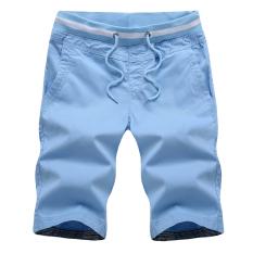Buy Cheap Men S Casual Male Summer Loose Fit Shorts Men S Shorts Light Blue