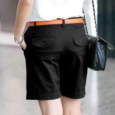 Looesn Korean Style New Slimming Plus Sized Harem Pants Shorts Black In Stock