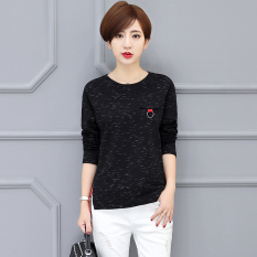 Best Buy Loose Korean New Sheath Women S Top T Shirt Black Black