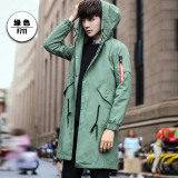 Brand New Looesn Lamb S Wool Men S Autumn And Winter Thick Coat Green