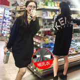 Buy New Style Mid Length Long Sleeved Nursing Thick Hoodie Nursing Clothing Spring And Autumn Oem