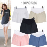 Deals For Junruliangpin Maternity Loose Belly Support Shorts Light Blue Light Blue