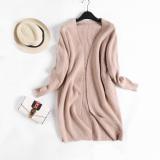 How Do I Get Loose Versitile Fashion Plain Female Slimming Knit Cardigan New Style Men S Sweaters Khaki