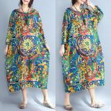 Price Loose Artistic Cotton Linen Origional Dress On China