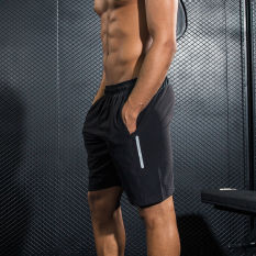Sale Loose Casual Men Running Fitness Shorts Sports Shorts B10D With Pockets With Zip Other Original