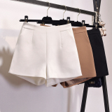 Price Comparisons For Loose Casual Women Outerwear Suit Pants Shorts Off White Color