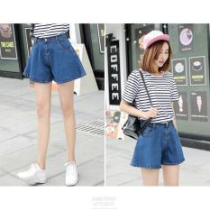 Coupon Loose Denim Hot Pants Women Short Jeans Denim Shorts Casual Beach Slim Trouser Ladies Short Pants Intl