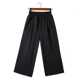 Lowest Price Loose Korean Style High Waisted Thin Student Pants Wide Leg Pants