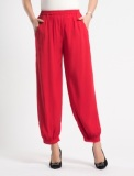 Low Price Women S Korean Style Stylist Plus Size Loose Bloomers Red Red