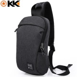 Wholesale Loself Kaka Waterproof Oxford 7 9 Inch Chest Bag Casual Crossbodybag Multifunction Messenger Bag For Men Black Intl