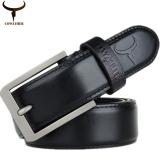 Cowather Men Belt 100 Top Cow Leather Reversible Belts For Men Buckle Fancy Vintage Jeans Dress Belts Trims To Cut Price Comparison