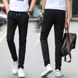 Discount Man Summer Thin Pant Slim Elastic Casual Sport Trousers Intl
