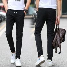 Shop For Man Summer Thin Pant Slim Elastic Casual Sport Trousers Intl