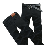 Man Trousers Khaki Trousers Casual Pants Fashion Mens Chino Khakis Black Lower Price