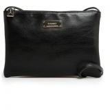 Best Offer Mango Faux Leather Shoulder Sling Bag Black Intl