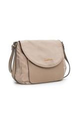 Get The Best Price For Mango Nylon Cross Body Sling Bag Beige
