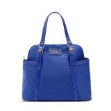 Lowest Price Mango Nylon Shell Bag With Crossbody Sling Strap Blue