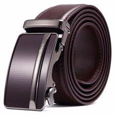 Discount Mantobruce Men S Genuine Cowhide Leather Belt Coffee Intl Mantobruce On China