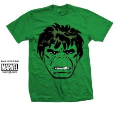 Discount Marvel Comics Unisex Tee Hulk Big Head Marvel