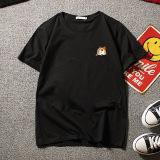 Knight Dog Fake Pocket T Shirt T 118 Black Cheap