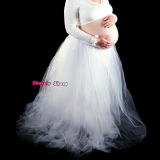 Buy Maternity Lace Dresses For Photography Props Clothes Fashion Fancy Pregnancy Pregnant Women Gown Photo Shooting Studio Dress Oem